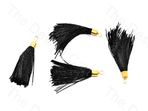 Black Silk Thread Tassel