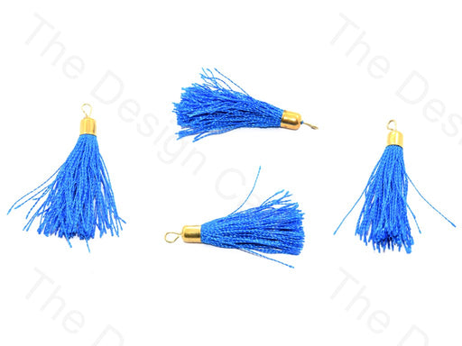 Blue Silk Thread Tassel