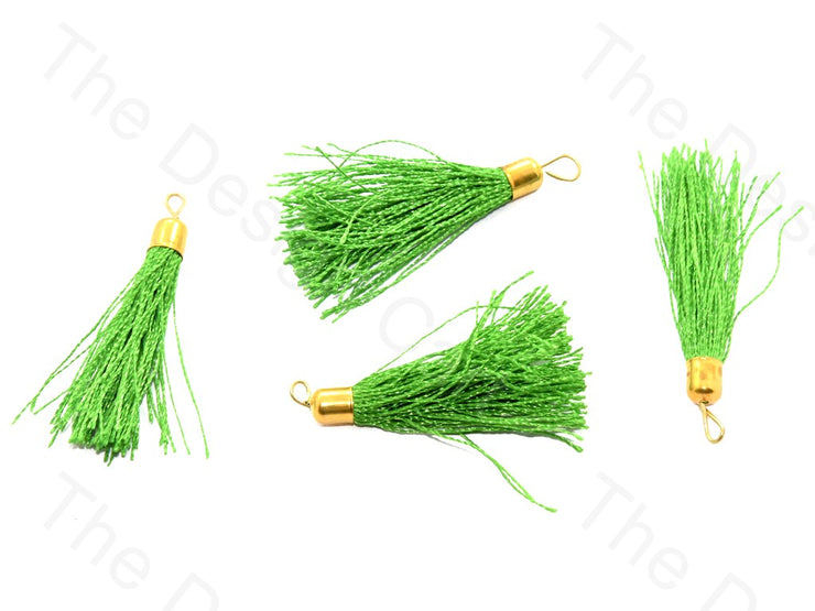 Bright Green Silk Thread Tassel | The Design Cart (526013890594)