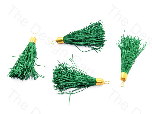 Green Silk Thread Tassel