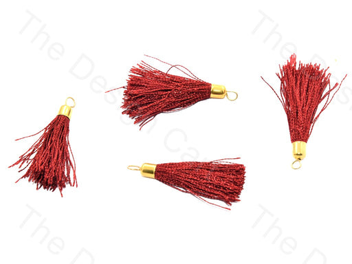 Maroon Silk Thread Tassel