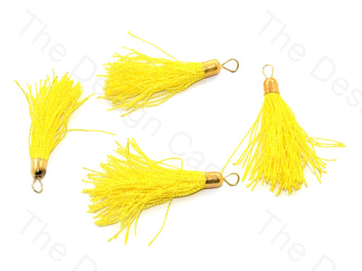 Yellow Silk Thread Tassel