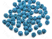 Sea Blue Zircon Balls