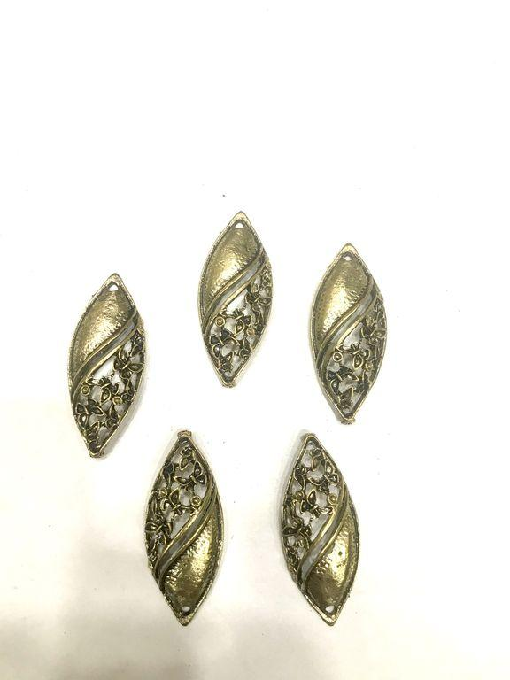 Antique Golden Eye Metal Piece Embellishments (4480939032645)