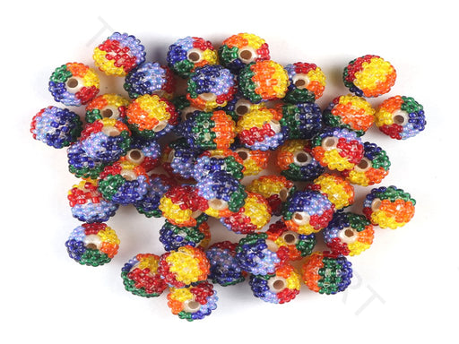 Multicolour Woven Beaded Beads