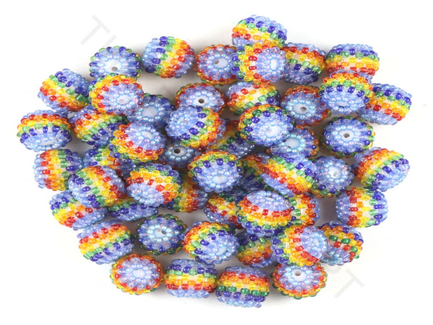 Multicolour 2 Woven Beaded Beads | The Design Cart (3765715206178)