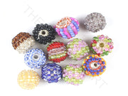 Multicolour Assorted Woven Beaded Beads | The Design Cart (3765715271714)