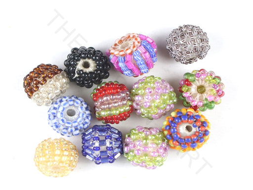 Multicolour Assorted Woven Beaded Beads