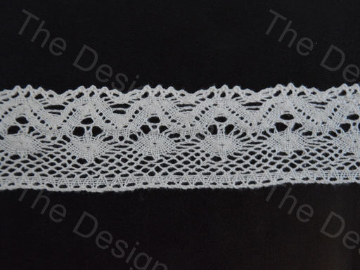 Off White Design 19 Crochet Cotton Lace