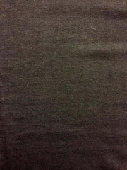 Black Solid Sinker Cotton Fabric