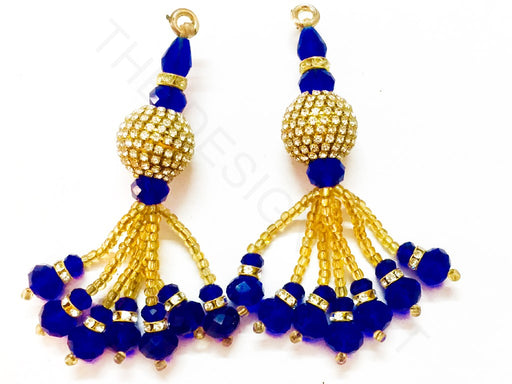 Blue Beads Work Latkan