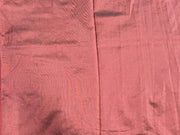 Brown Plain Mill Dyed Poly Silk Fabric