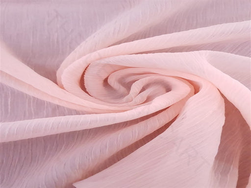 Light Pink Chiffon Fabric