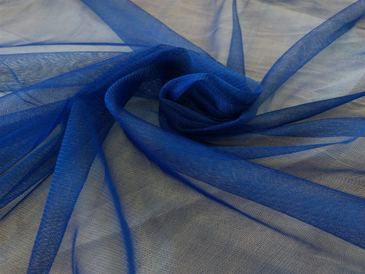 Blue Rigid Net Fabric