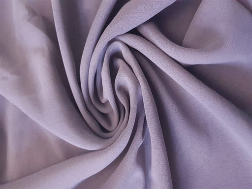 Gray Georgette Fabric