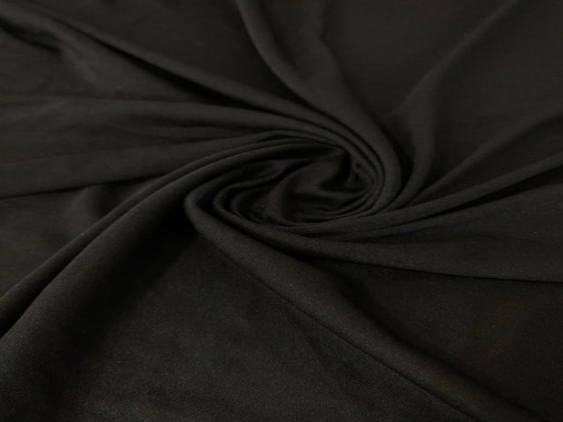 Black Poly Knit Fabric | The Design Cart