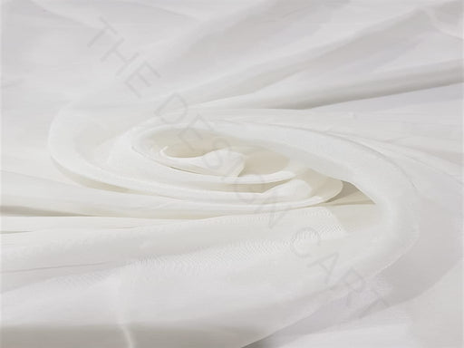 Dyeable White Plain Georgette Fabric