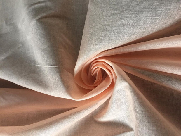 Pink Solid Cotton  Viole Fabric | The Design Cart