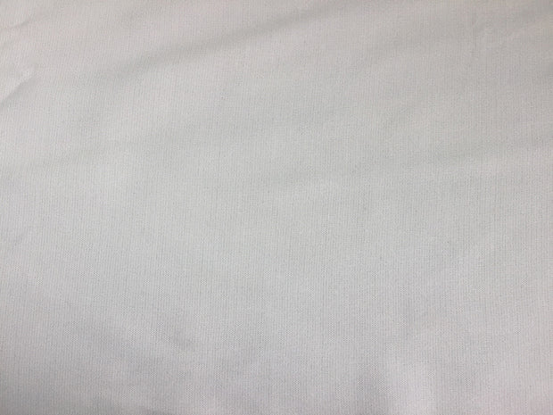 White Solid Cotton Cambric Fabric | The Design Cart