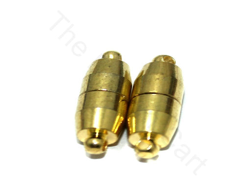 Golden Cylindrical 2 Magnetic Clasps