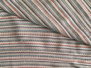 Multicolour Stripes Yarn Dyed Acrylic Heavy Cotton Jacquard Fabric | The Design Cart