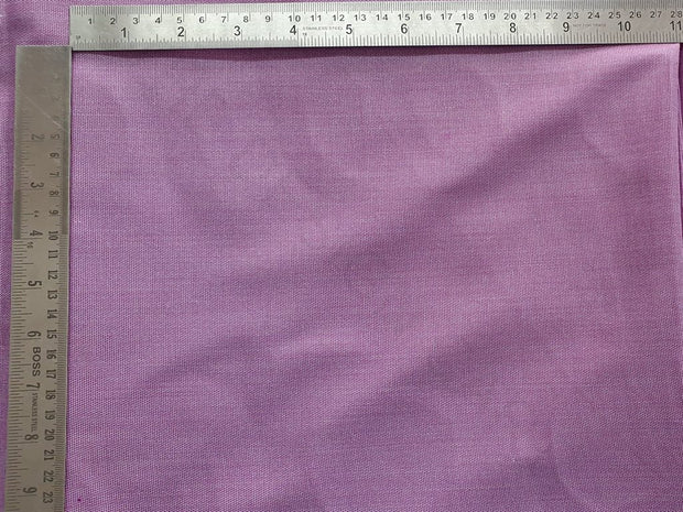 Violet Plain Yarn Dyed Polyester Fabric | The Design Cart