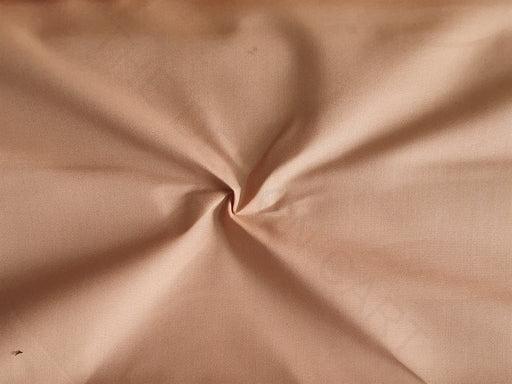 Brown Plain Poly Viscose Fabric