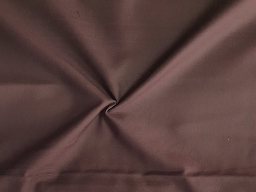 Dark Brown Plain Poly Viscose Fabric
