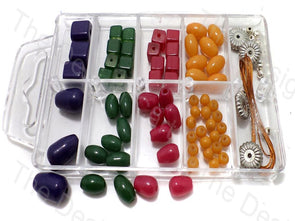 DIY Jewellery Making Acrylic Beads & Pearls Kit