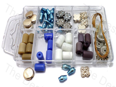 DIY Crystal, Clay and Shell Beads Kit