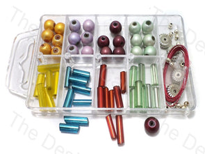 DIY Jewellery Making Tube & Oval Beads Kit