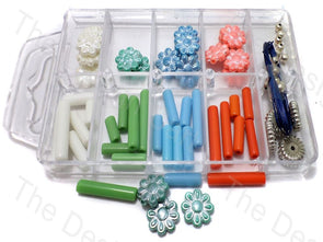 DIY Jewellery Making Tube & Spherical Beads Kit