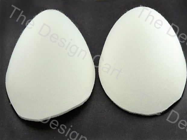 White Bra / Blouse Cups - The Design Cart (435527614498)