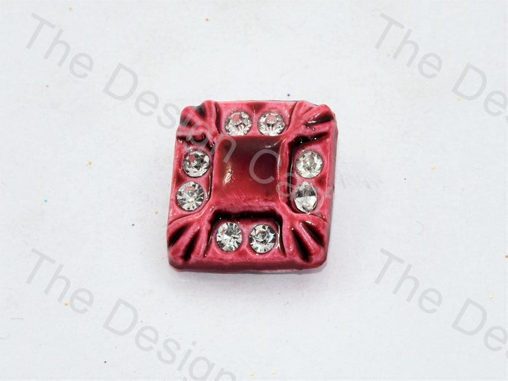 maroon-stone-crystal-square-button