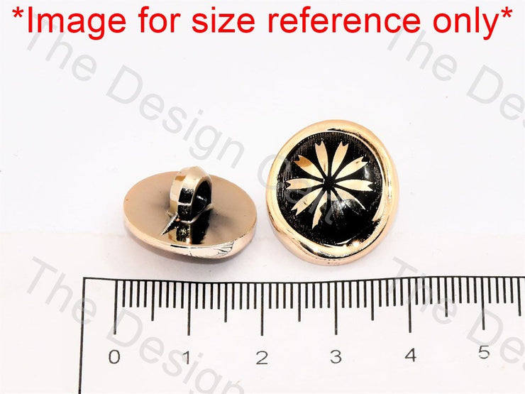 White Golden Lines UV Acrylic Buttons - The Design Cart (444678602786)