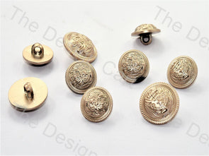 Star Design Silver Suit Buttons