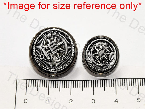 Punch Design Silver Suit Buttons - The Design Cart