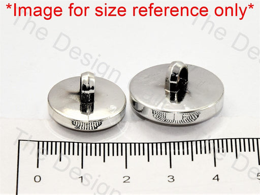 Axe Design Silver White Suit Buttons - The Design Cart