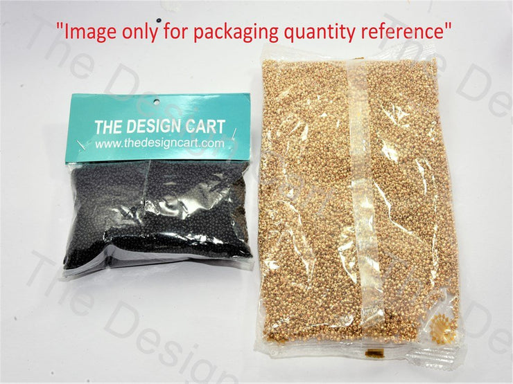 Iris Bronze / M Brown Round Seed Beads - The Design Cart (420045291554)