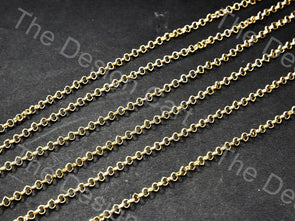 Small Golden Hooks Metal Chain
