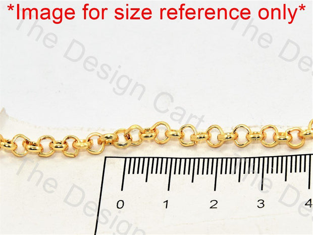 Small Golden Hooks Metal Chain - The Design Cart