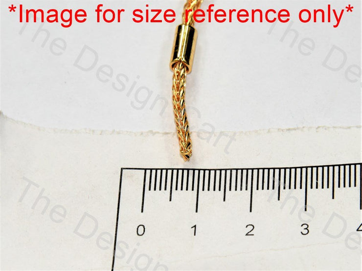 Cord Design Golden Metal Chain - The Design Cart