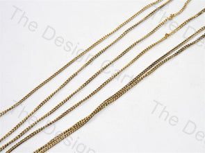 Designer Golden Metal Chain