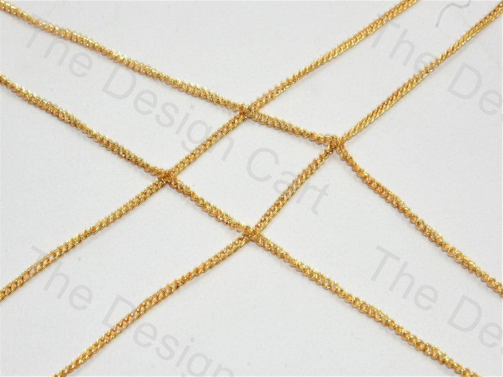 Plain Golden Metal Chain