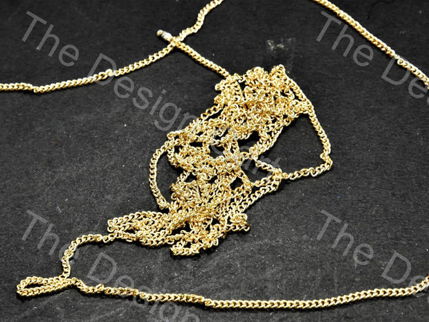 Plain Golden Metal Chain - The Design Cart