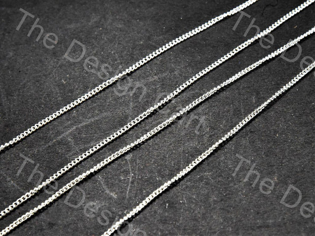 Plain Design Silver Metal Chain