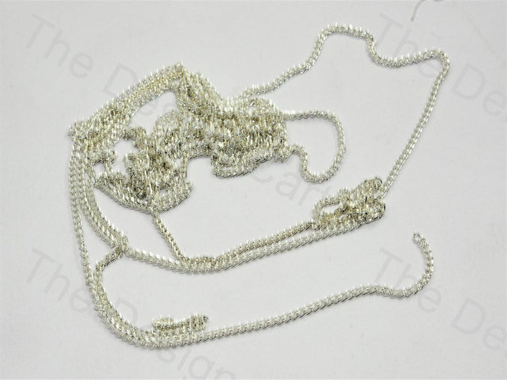 Plain Design Silver Metal Chain - The Design Cart (559758540834)