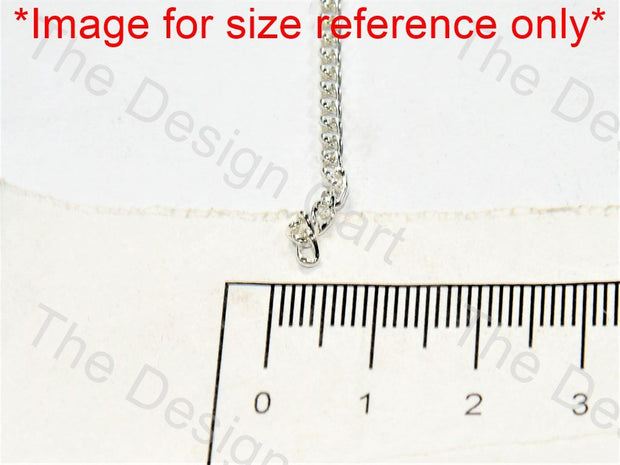 Plain Design Silver Metal Chain - The Design Cart