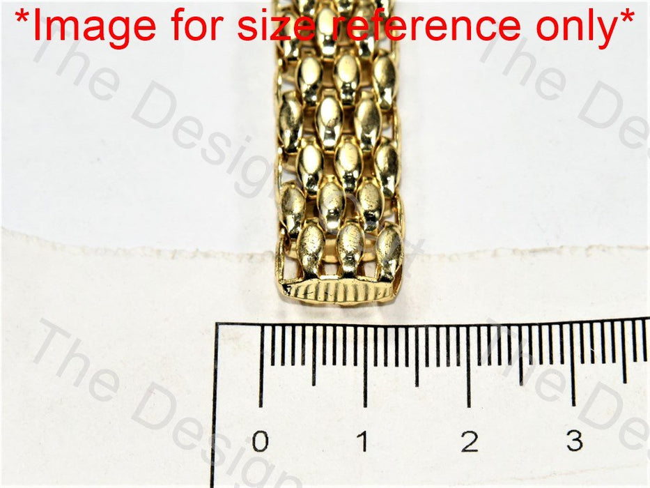 Dotted Belt Design Golden Metal Chain - The Design Cart