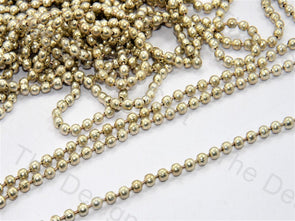 Spherical Silver Metal Chain Beads - The Design Cart